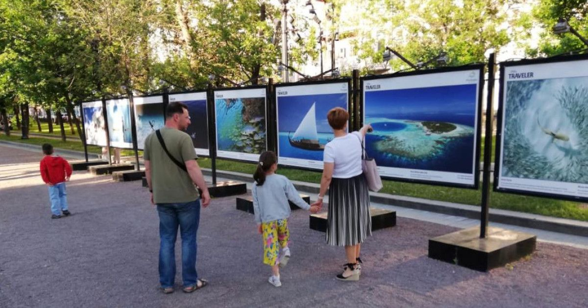 Visit Maldives and National Geographic Traveller hosts a photo exhibition o...
